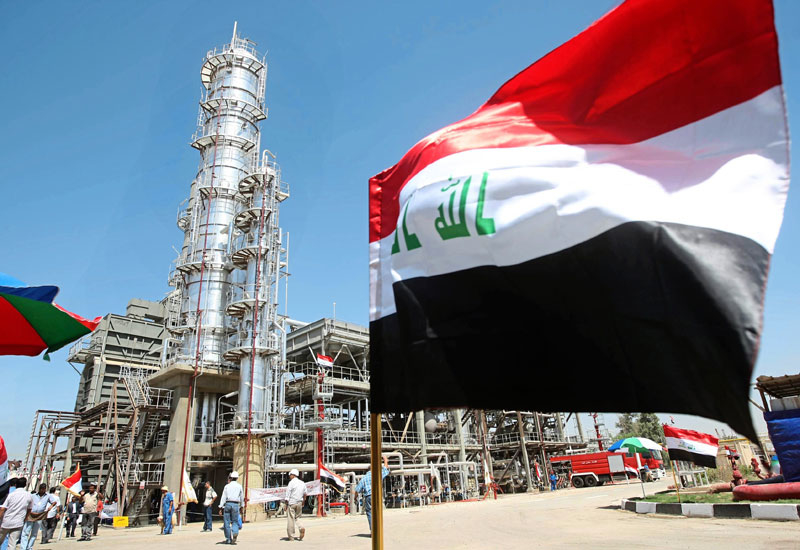 Iraq's current production stands at 4.5mn bpd, slightly below January's record high of 4.8mn bpd.