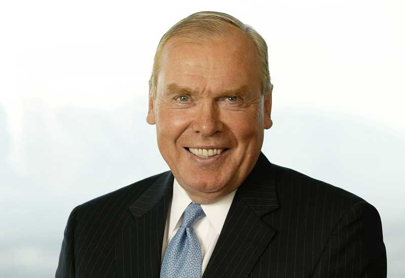 Jon M Huntsman, founder and Chairman Emeritus of Huntsman Corporation.