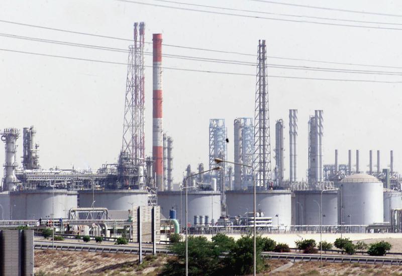 Jubail refinery.