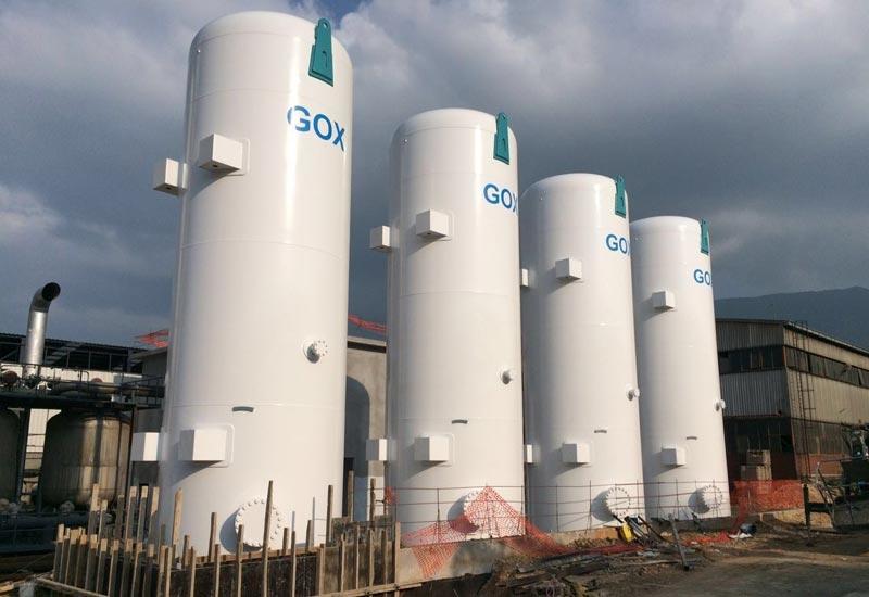 Karbonsan manufactures pressure vessels and industrial plants.