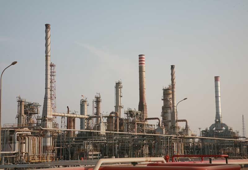 A refinery in Kuwait.