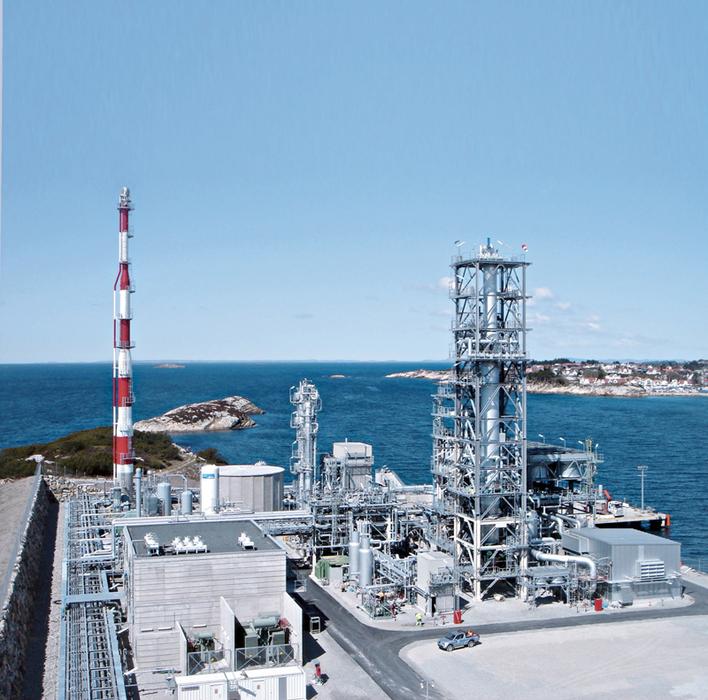LNG plant, Stavanger, Norway. (Image for illustration only. Image courtesy: Linde Group)