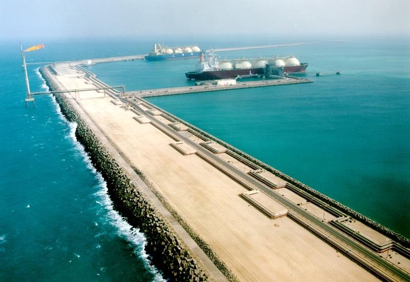 LNG dock in Qatar.