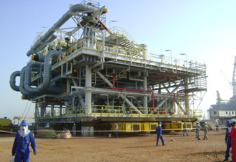 LNG plant in Qatar.