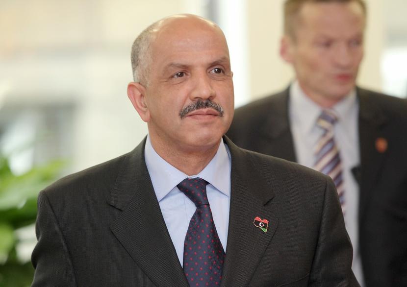 Libya Oil Minister Abdulrahman Ben Yezza. GETTY IMAGES