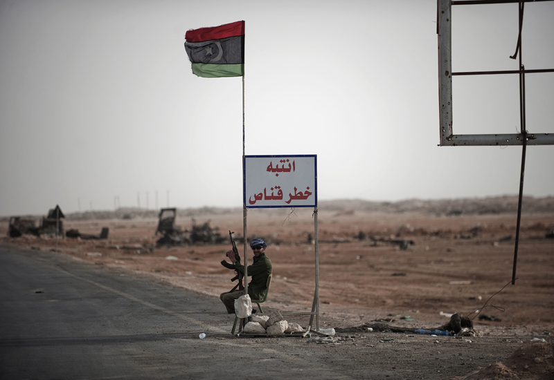 Libya has been plunged into a civil war since 2011.