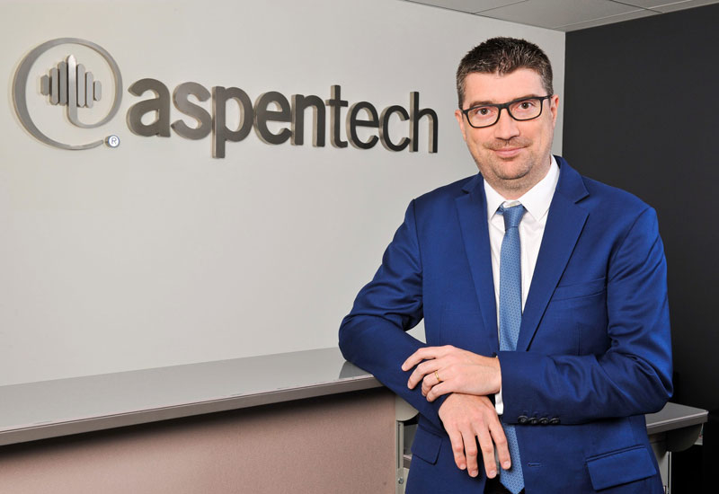 Luc Chantepy is the regional sales vice president for the Middle East and North Africa region at AspenTech.