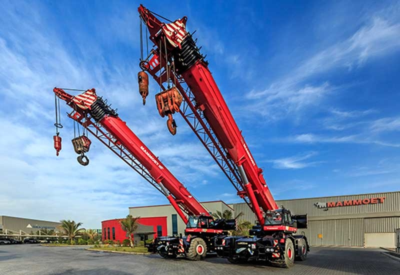 Mammoet delivers efficient and cost-effective solutions for engineered heavy lifting and transportation.
