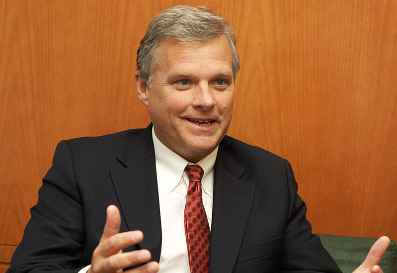 Mark Carne, Executive vice president for MENA at Shell