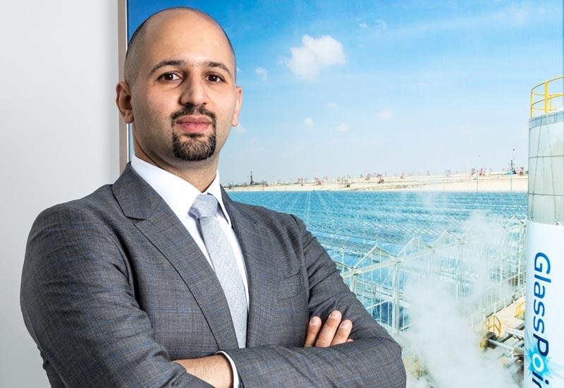 Marwan Chaar, vice president, project development, GlassPoint Solar.