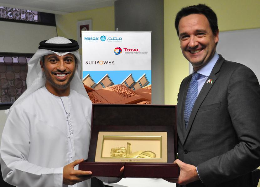 SunPower opened a new regional office in Masdar city.