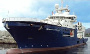 One of Mermaid's support vessels.