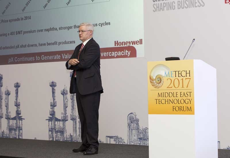 Mike Millard, VP and general manager, process technology and equipment business, Honeywell UOP.