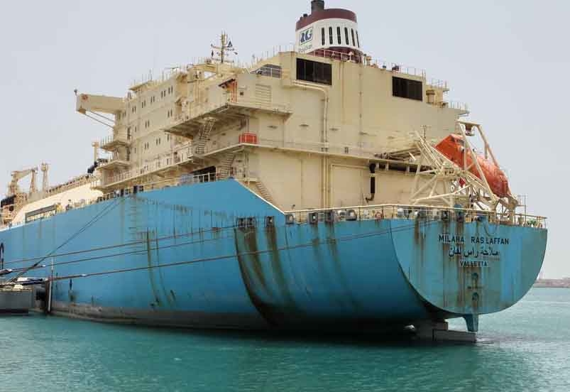 Upon its arrival at Yung An on 8th June 2013, ?Milaha Ras Laffan? will have shipped almost 13,613,720 million cubic metres of LNG.