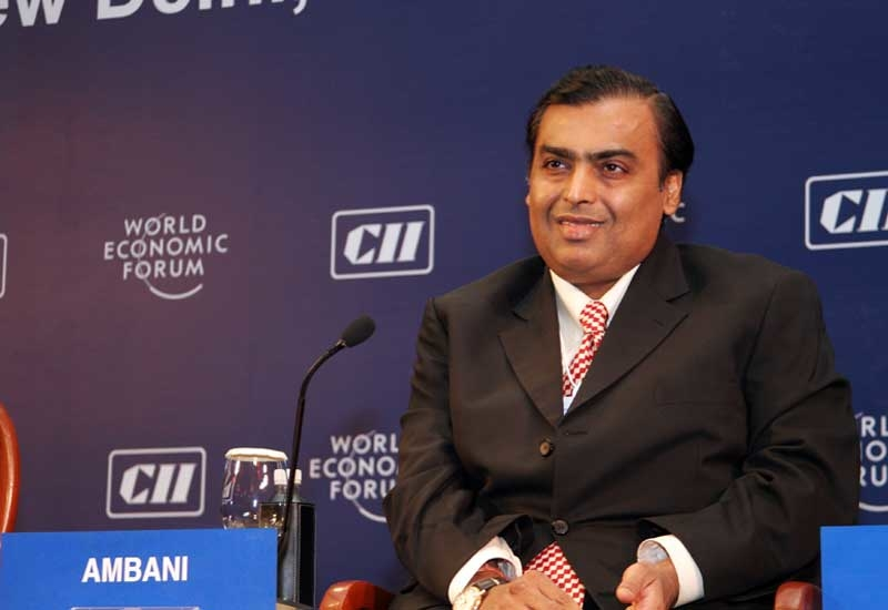 Mukesh Ambani, chairman and managing director, Reliance Industries Limited.