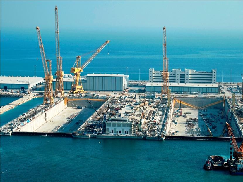 Nakilat-Keppel Offshore & Marine facilities.