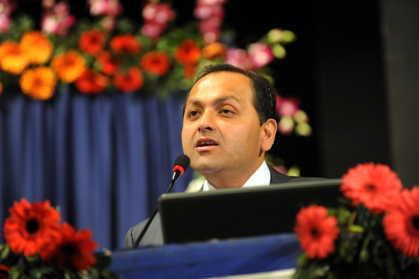Nikhil Meswani, executive director, Reliance Industries. (Image courtesy: Sam Panthaky/AFP/Getty Images)