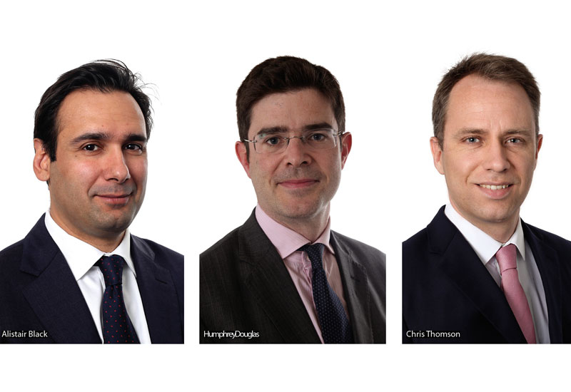 Alistair Black and Humphrey Douglas are partners in Dentons' energy, transport and infrastructure practices in London, and Chris Thomson is a managing  associate in the same practices.