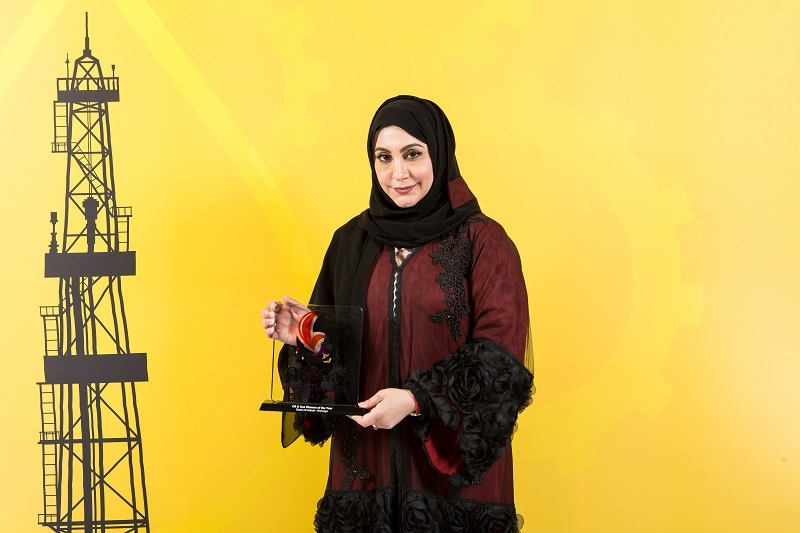 Reem Al Anbari, the chief financial officer of Borouge, won the 'Woman of the Year' award in 2016.