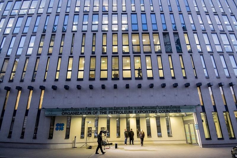 A file photo of the OPEC headquarter in Vienna.