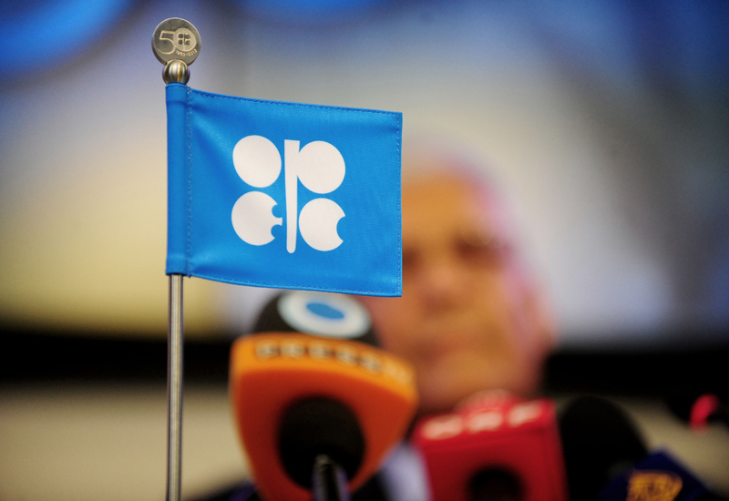 OPEC and rival oil producers are meeting in Kuwait to review progress with their global pact to cut supplies.