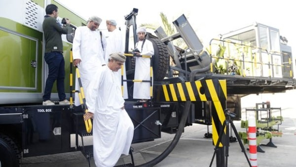The inauguration ceremony was attended by Mohammed bin Hamad Al Rumhy, Oman's Minister of Oil and Gas.