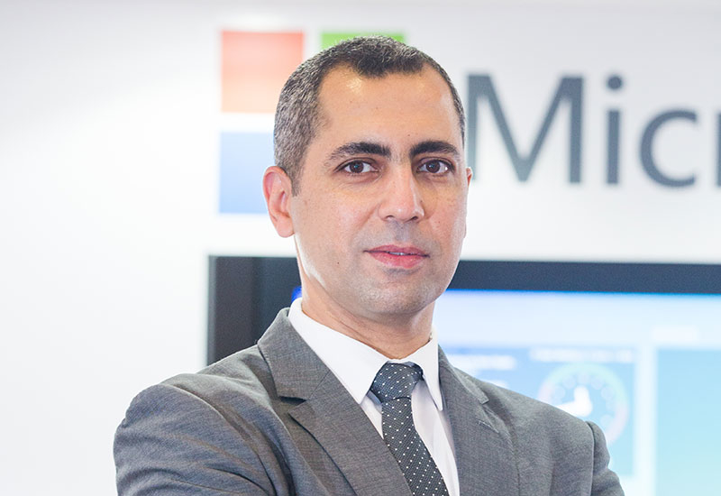 Omar Saleh, Middle East and Africa regional director  manufacturing and resources, Microsoft.