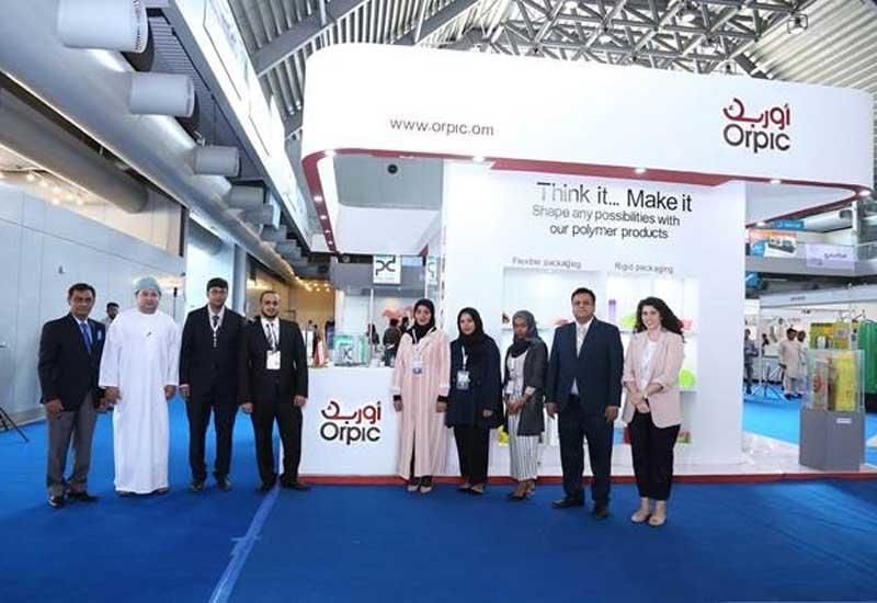 Orpic's polymer marketing team at PAKPLAS 2018 at Lahore, Pakistan.