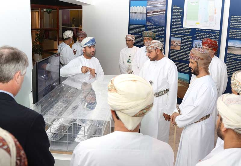 The guests were given an overview of the scale of PDO, which operates 178 oil producing fields, around 10,000 active wells and more than 18,500 kilometres of pipelines and flowlines.