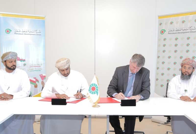 The deals were signed by Raoul Restucci, MD, PDO, and Sheikh Ghanim bin Dhahir Al Bathari, chairman, Al Baraka Oilfield Services, and Sheikh Ahmed bin Saif Al Mahrooqi, chairman, Al Shawamikh Oil Services.