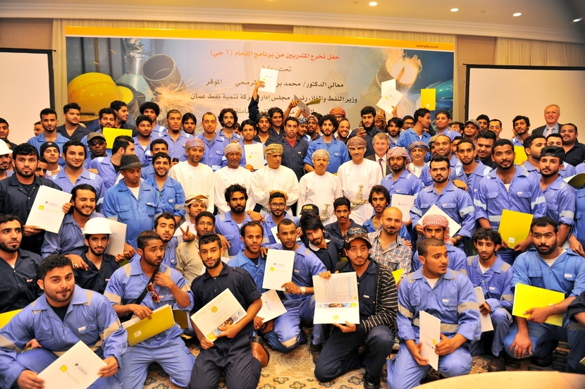 PDO created 7,200 employment, training and re-deployment opportunities for Omanis.