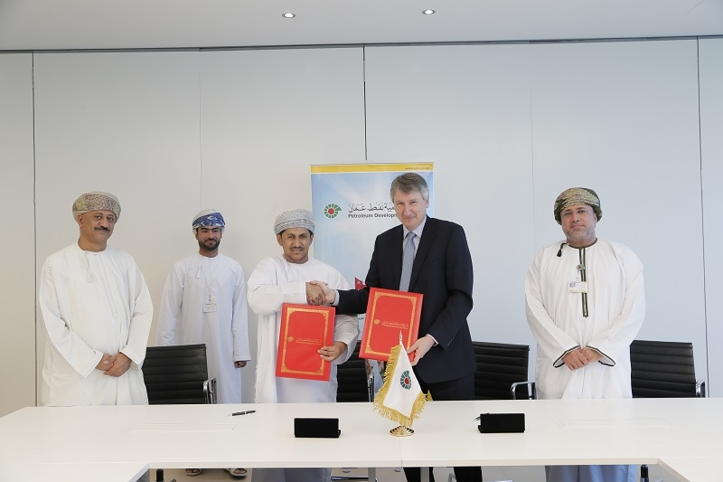 The contracts, which were signed this week at an official ceremony at PDO's Mina Al Fahal headquarters in Muscat, will run for four years with options to extend into the future. (Supplied image)