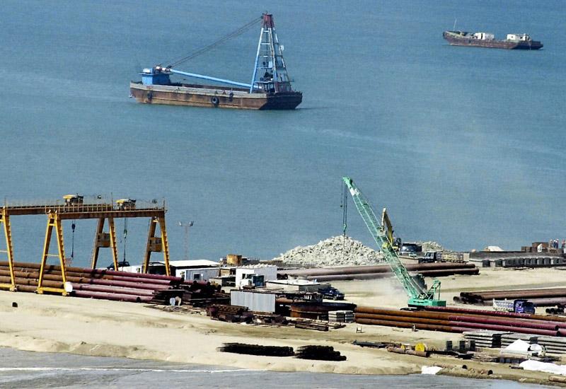 A file photo of Pakistan's strategic Gwadar port.