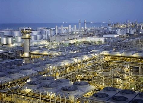 Petrochemical plant.