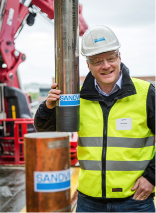 Phil Cherrie, regional sales and marketing manager, oil and gas, EMEA, Sandvik.