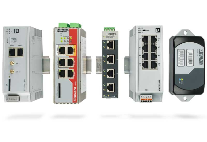The Phoenix Contact stand at Middle East Electricity 2018 will showcase products and solutions, including industrial Ethernet switches with IEC 61850.