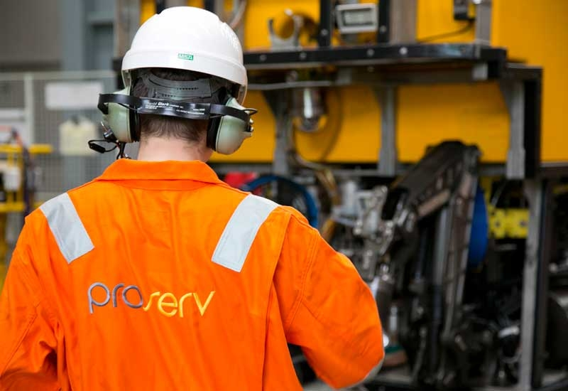 Proserv is to upgrade and refurbish the entire subsea control system.
