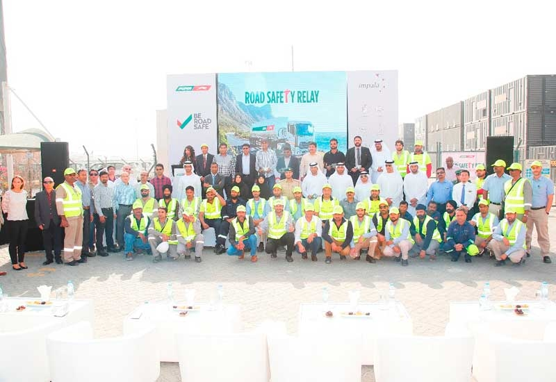 Attendees of the Puma Energy hosted 'Be Road Safe' event