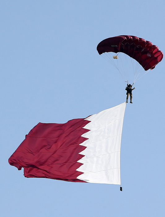 Qatar is forging ahead with infrastructure plans.