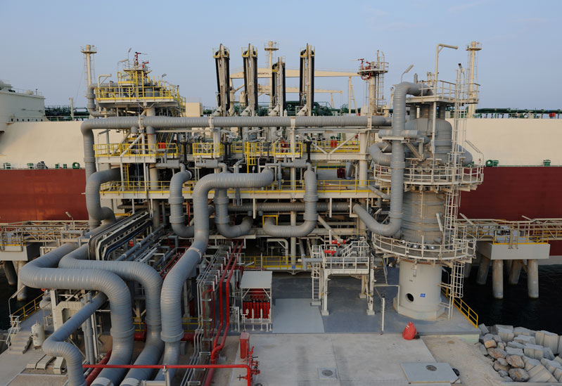 Qatargas is the largest LNG producing company in the world, with an annual LNG production capacity of 42 million tonnes.