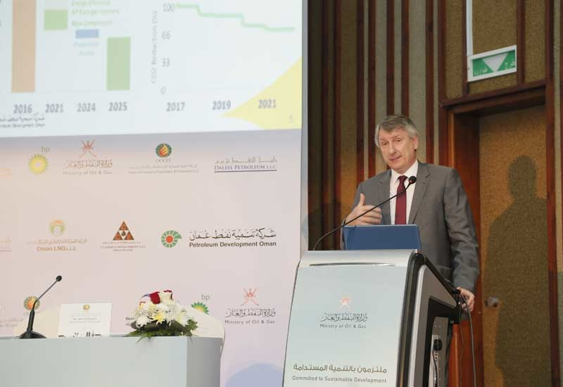 Raoul Restucci, managing director, PDO, during the recent annual ministry of oil and gas media briefing in Muscat, Oman.