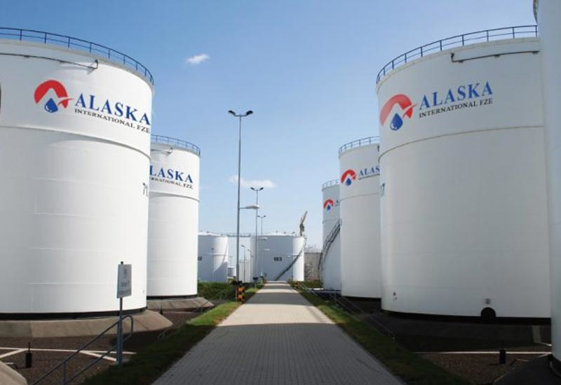 Renish Group storage facility, known as Alaska International FZE, has 22 tanks with a combined capacity of 125,000m3.