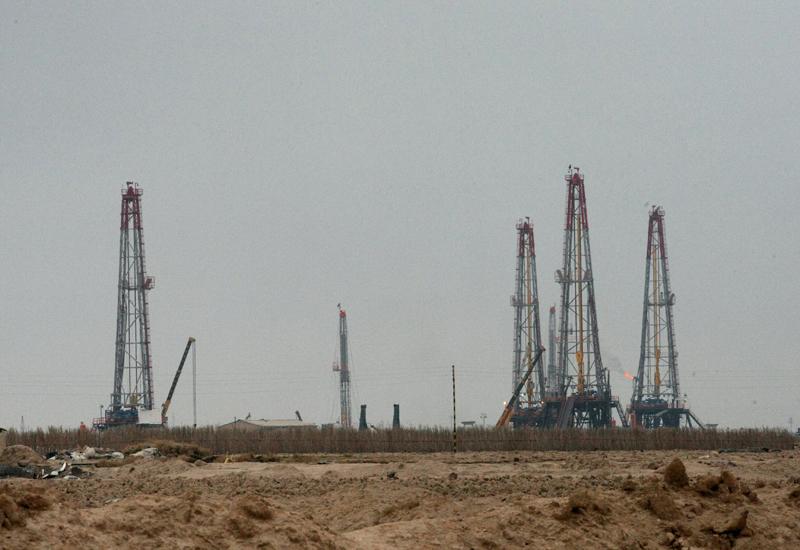 Rumaila oilfield in southern Iraq.