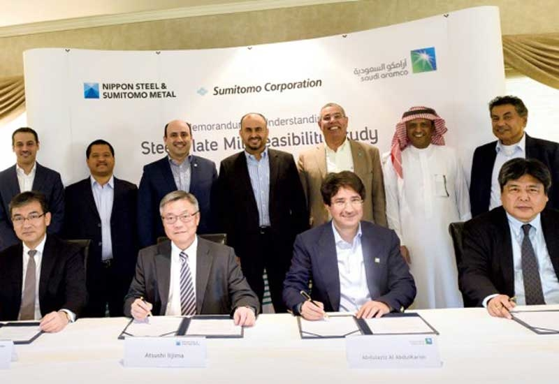 The signing was witnessed by Ahmad A Al Sa'adi, senior vice president, technical services, Saudi Aramco, and senior executives from all parties.