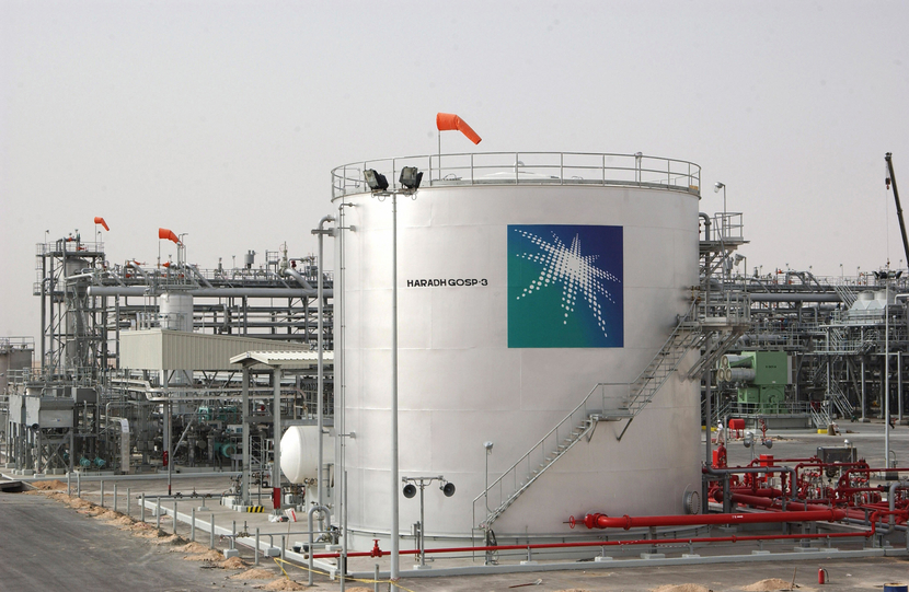 Aramco currently pumps all of Saudi Arabia's crude oil.