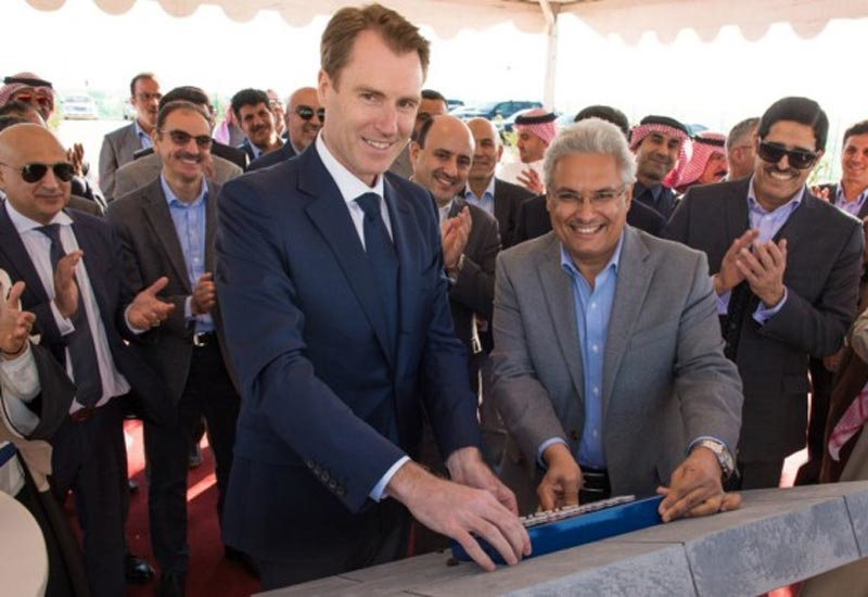 The announcement about the industrial manufacturing centre was made at a ground-breaking ceremony at the King Salman Energy Park, where Schlumberger will be a key anchor tenant.