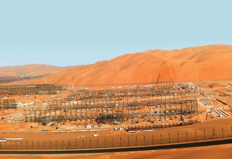 The Shah gas field is located about 210km southwest of Abu Dhabi city.
