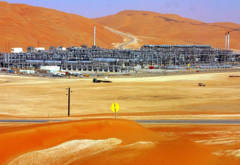 One of Abu Dhabi's many mammoth gas fields.