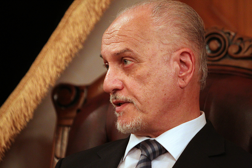 Iraq's Deputy Prime Minister for Energy Hussein Al-Shahristani. GETTY IMAGES