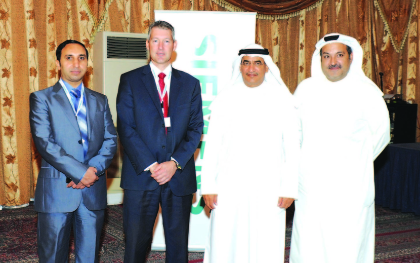 Attendees at Siemen's forum in Kuwait.